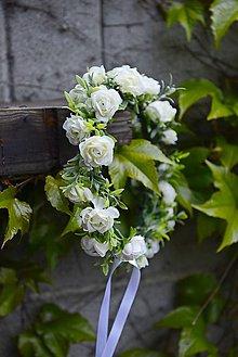 Ozdoby do vlasov - venček by michelle flowers - 6706028_