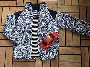 Detské oblečenie - Detský svetrík s raglánovými rukávmi - 6706208_