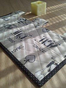 Úžitkový textil - Vreckár,podšálky,prestieranie.. - 6708643_