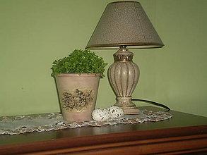 Nádoby - Hlinený kvetináč Kuriatka - 6708472_