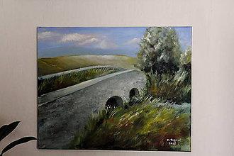 Obrazy - Noviansky kamenný most 2 - 6707751_