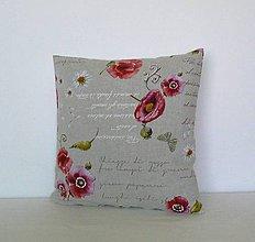 Úžitkový textil - Vankúš - návliečka č.3  40x40 cm - 6706726_