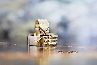 Prstene - Atlantské obrúčky - zlaté 14K - 6711519_