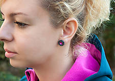 Náušnice - Mini Sapphire - 6709936_