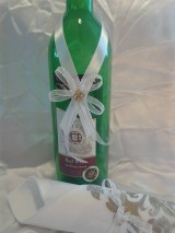 stužka na fľašu