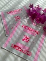 Úžitkový textil - Pastelové podšálky. . - 6711149_
