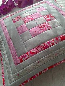 Úžitkový textil - Pastelový vankúš. . - 6711041_