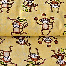 Textil - Opičky - 6710084_