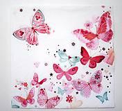 - Servítka D11-Motýle - 6711513_