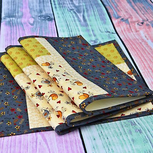 Úžitkový textil - Prestieranie Birds - 6710306_