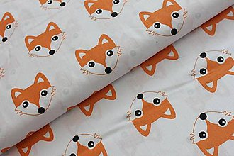 Textil - Líštičková podložka do kočíka - 6713055_