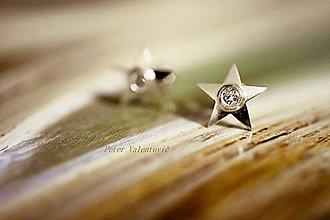 Náušnice - Som hviezda - 6714390_