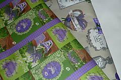 Textil - Levanduľová záhrada - 6715450_