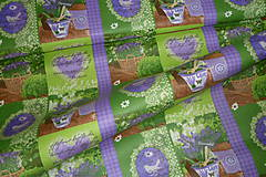 Textil - Levanduľová záhrada - 6715462_