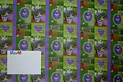 Textil - Levanduľová záhrada - 6715463_
