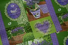 Textil - Levanduľová záhrada - 6715465_