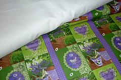 Textil - Levanduľová záhrada - 6715467_