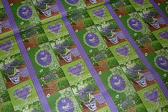 Textil - Levanduľová záhrada - 6715453_
