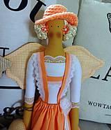 Bábiky - Marhuľová anjelka - 6712145_