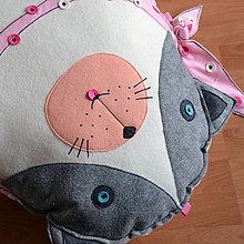 Úžitkový textil - Mačka Modroočka - sedací vak - 6715065_