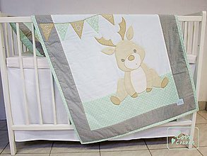Textil - Detská deka so sobíkom - 6713235_