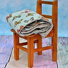 Textil - Deka Motýle - 6714195_