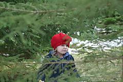 Detské čiapky - Baretka na jar, jeseň ...