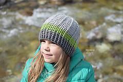 Detské čiapky - Prechodná čiapka unisex