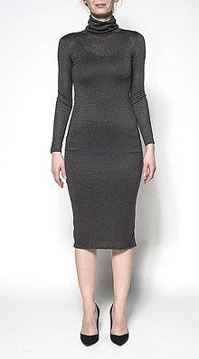 Šaty - Rolákové midišaty - 6720257_