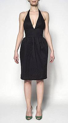 Šaty - Šaty do krku - 6720310_