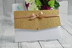 Papiernictvo - Svadobné oznámenie Evening Star - 6720073_