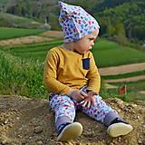 Detské oblečenie - Tepláčiky ABC - 6715859_