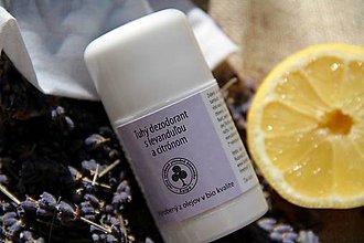 Drogéria - Tuhý dezodorant s levanduľou a citrónom - 6718293_