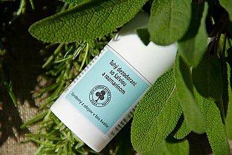 Drogéria - Tuhý dezodorant so šalviou a rozmarínom - 6718339_