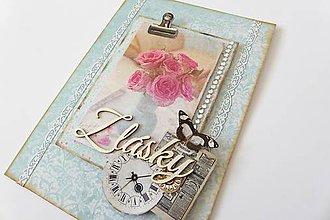 Papiernictvo - pohľadnica z lásky - 6716103_