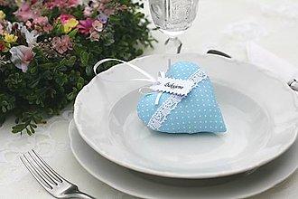Darčeky pre svadobčanov - Nebíčkove srdiečka - 6716105_
