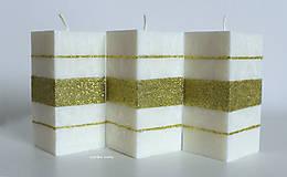 Bielo zlatý hranol