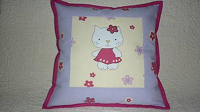 Textil - Obliečka na detský vankúšik PARÁDNICA CICA - 6715832_