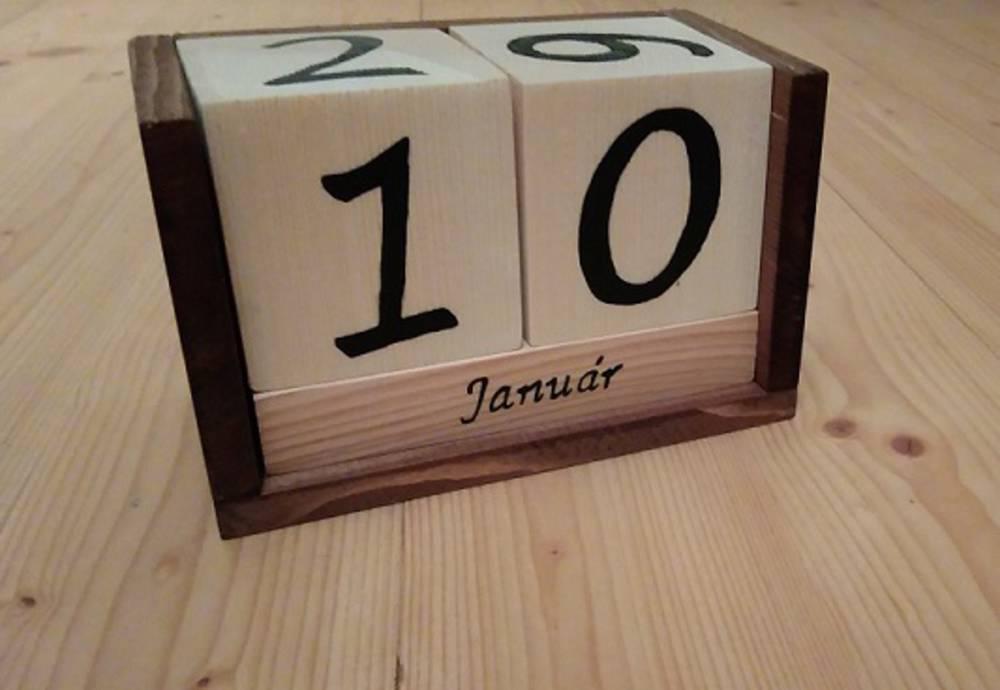 vecny kalendar Večný kalendár / Ajusa245   SAShE.sk   Handmade Dekorácie vecny kalendar