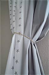 Úžitkový textil - Bavlnené závesy - 6717996_