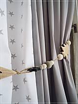 Úžitkový textil - Bavlnené závesy - 6717997_