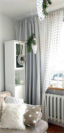 Úžitkový textil - Bavlnené závesy - 6717994_