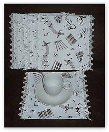 Úžitkový textil - Prestieranie ku klavíru - 6716520_
