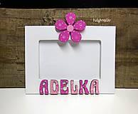 Rámiky - fotorámik pre Adelku - 6721231_