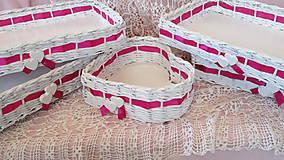 - Svadobné košíčky - Cyklamén - 6721929_