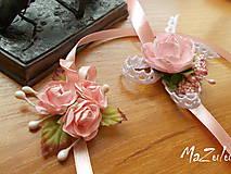 - svadobné náramky v štýle Vintage - 6720783_