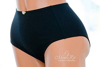 Bielizeň/Plavky - Dámske nohavičky klasické extra vysoký pás - 6722383_