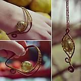 Sady šperkov - Zlato-zelená - 6720976_