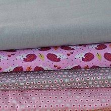 Textil - Sivá uni - 6724197_