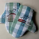 Úžitkový textil - KUCHTIČKY - chňapky - 6724097_